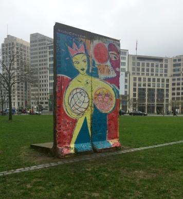 Mur de Berlin - Postdamer Platz