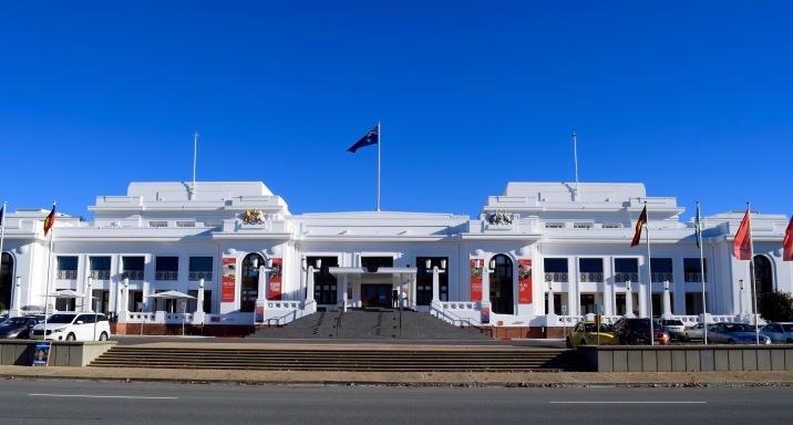 Ancien Parlement de Canberra