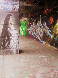 Sissi graffée ©Helene Monnier
