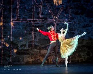le ballet auquel la rédaction a assisté: Cinderella - Anna Tsygankova matthew Golding