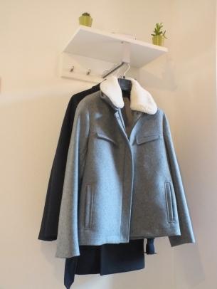 Le blouson en laine grise de Bonne Gueule. ©Hélène Monnier