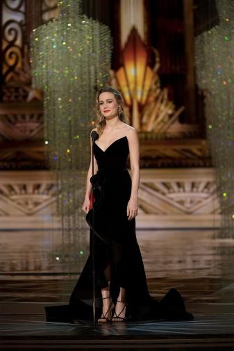 Brie Larsson - @ABC Television Network. (ABC/Adam Rose)