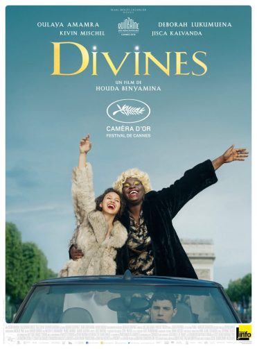 Caméra d'or à Cannes, Divines est nommé aux Césars pour le meilleur scénario notamment.