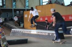 Skateurs au cours de la compétition. Crédits : Manon Debut.