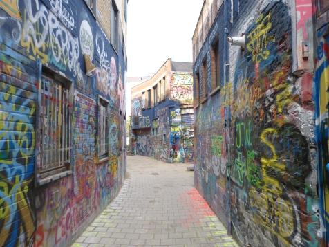 Werregarenstraat, Street Art à Gand Crédit : Czaplicki Marylou