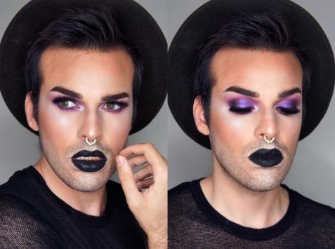 Maquillage réalisé par Chad Monroe - Crédit photo : Chad Monroe