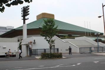 Arène de combats de sumos ! Crédits : Léa Gorius