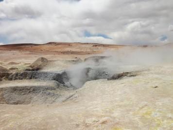 Les geysers de Sol de Mañana (Crédits : Célia Alaminos)