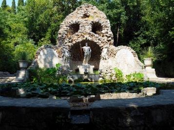 Fontaine de l'arboretum