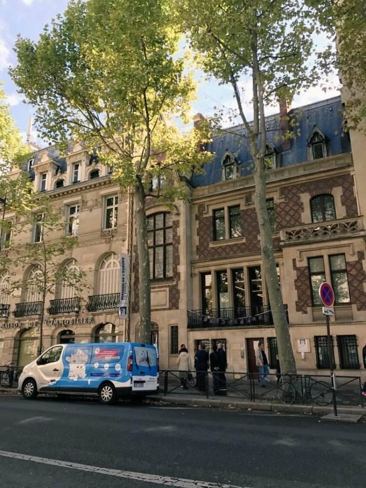 L'Erasbus à Paris (crédit photo : ESN)