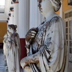 Terrasse du Palais Achilleion @manonvanpeene