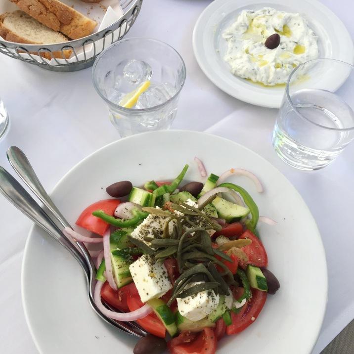 Une bonne salade grecque !