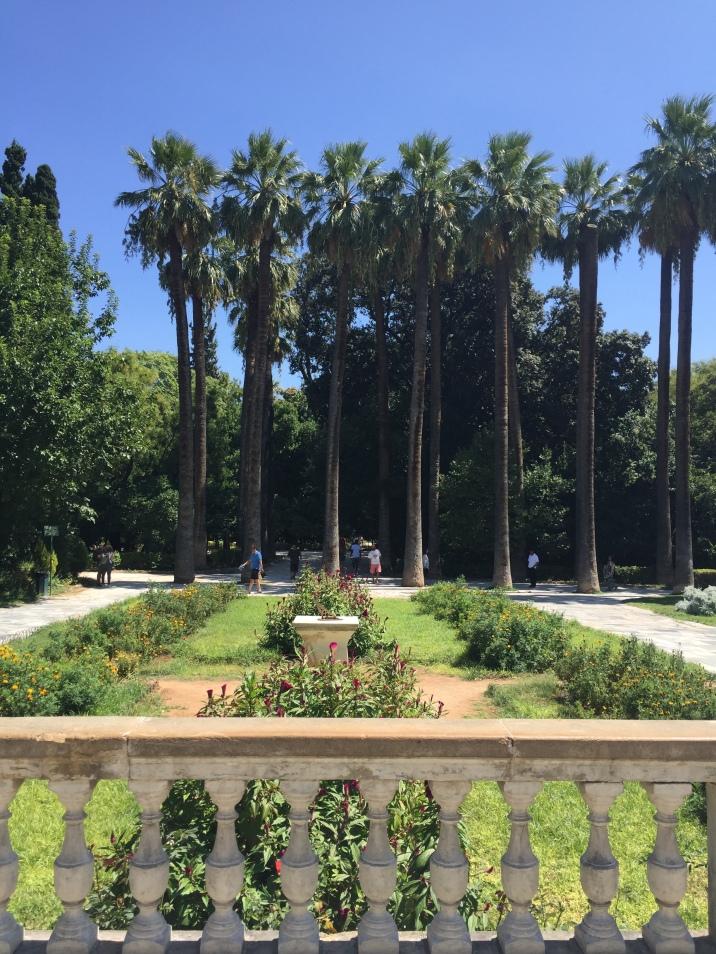 Le jardin national d'Athènes