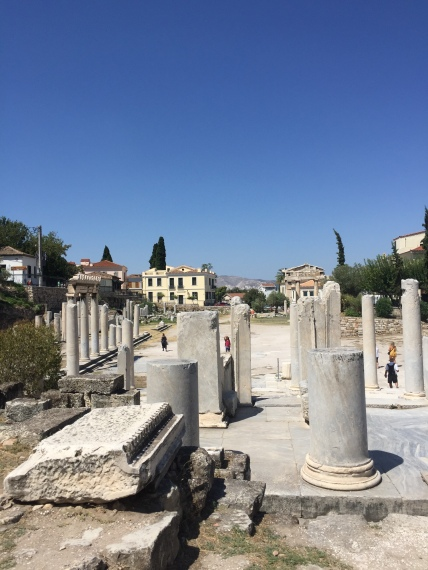 L'agora romaine