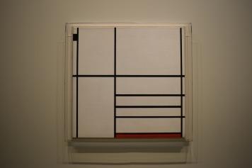 Composition en blanc, noir et rouge, Piet Mondrian, 1936 @manonvanpeene