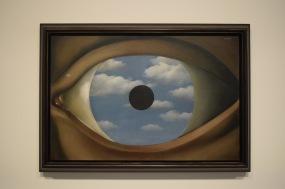 Le Faux Miroir, René Magritte, 1928 @manonvanpeene