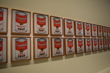 Campbell's Soup Cans, Andy Warhol, 1962 @manonvanpeene