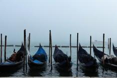 Les gondoles à Venise ©Adeline Mullet