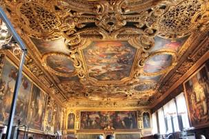 Le Palais des Doges et ses décorations par Le Tintoret ©Adeline Mullet