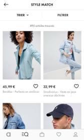 Les propositions de vestes similaires de Style Match